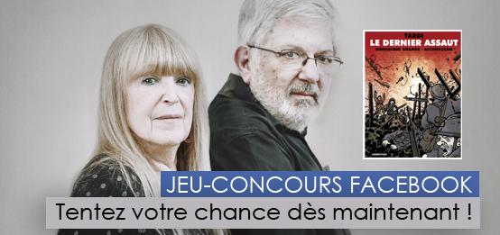JEU-CONCOURS Dédicaces Dominique Grange et Tardi