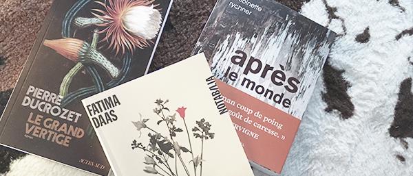 Finalistes du Prix Le Livre à Metz 2021